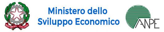 Logo ANPE Ministero Sviluppo Economico