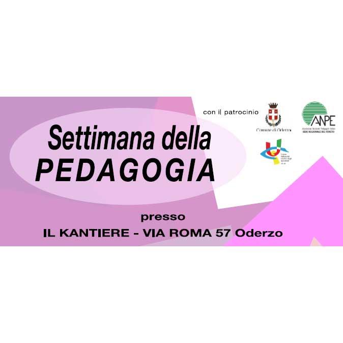 Settimana della pedagogia incontri e workshop