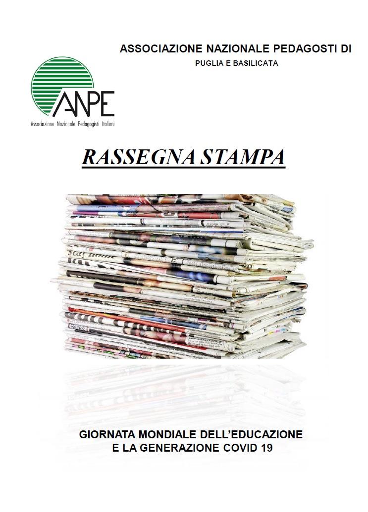 Rassegna Stampa – Anpe Puglia/Basilicata – 21/01/2021