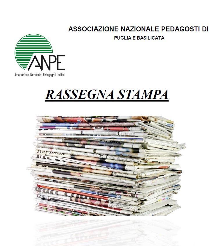 Rassegna Stampa – Anpe Puglia/Basilicata – 9/03/2021