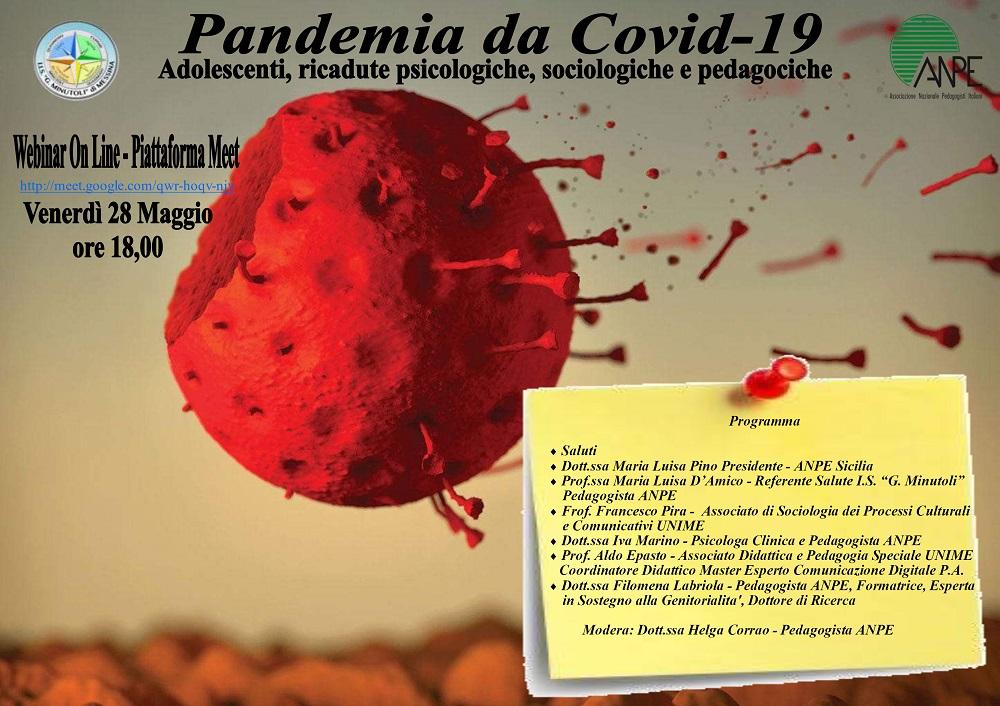 Webinar: Pandemia da Covid-19